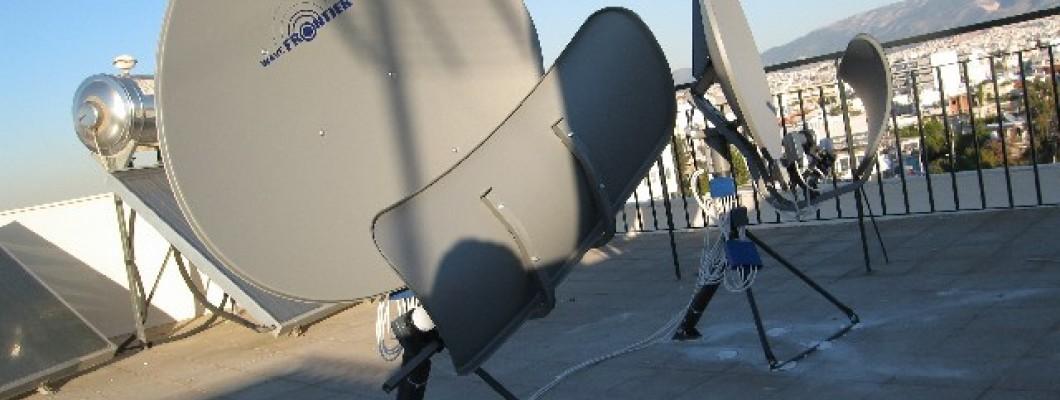 Εγκατάσταση 2 wavefrontier γιά λήψη 16 δορυφόρων