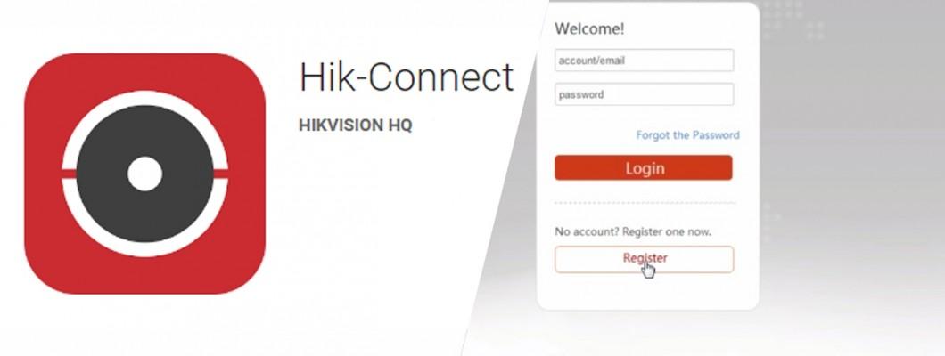 Hik-Connect P2P και εγγραφή ως επισκεπτης