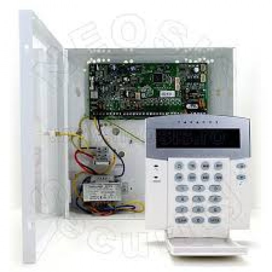 PARADOX SP5500 SET  Ολοκληρωμένο σύστημα συναγερμού ΜΕ LCD πληκτρολόγιο