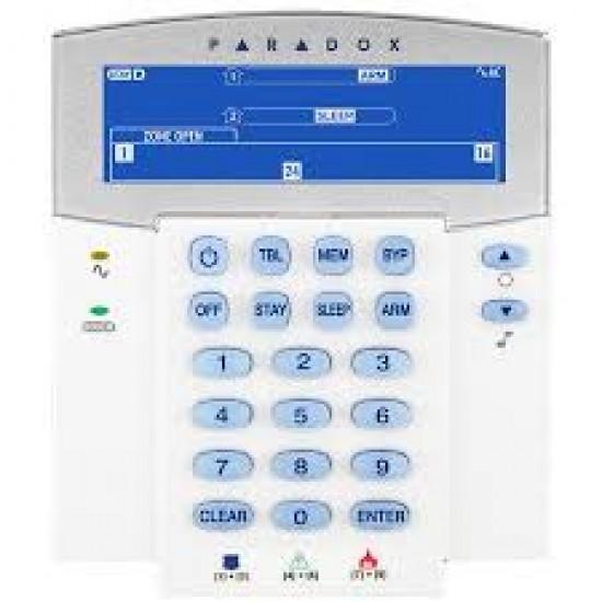 PARADOX SP6000 KIT4 ολοκληρωμένο σύστημα συναγερμου με IP module και wifi IP κάμερα DAHUA 3 MPIXEL