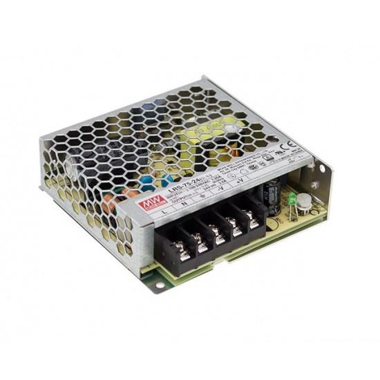 Τροφοδοτικό Mean Well Power Supply LRS-75-48 75W 48V