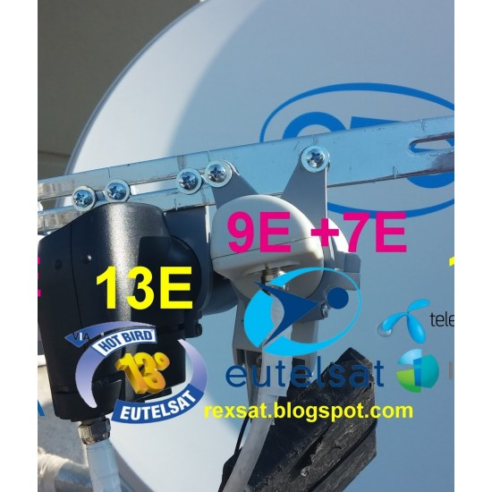 Δορυφορικό σύστημα  λήψης NOVA OTE TV με μόνο ένα καλώδιο