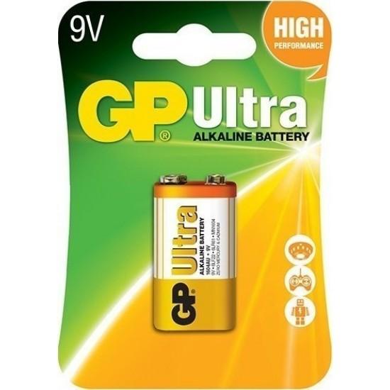 GP ULTRA ΑΛΚΑΛΙΚΗ ΜΠΑΤΑΡΙΑ 9V (6LR61)
