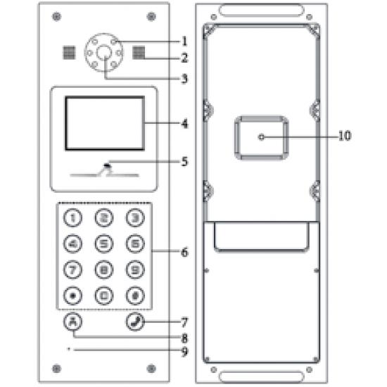 Hikvision DS-K3002-VM IP VIDEO INTERCOM