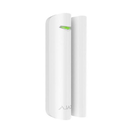 AJAX DOOR PROTECT PLUS Ασύρματη μαγνητική επαφή σε λευκό χρώμα