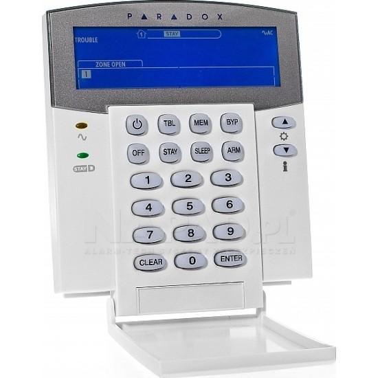 Ασύρματο σύστημα συναγερμού PARADOX MG5000 με συνδυασμό ενσύρματων μαγνητικών επαφών γιά ρολλά