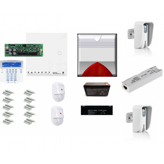 SP6000 PARADOX KIT11 ολοκληρωμένο σύστημα συναγερμού
