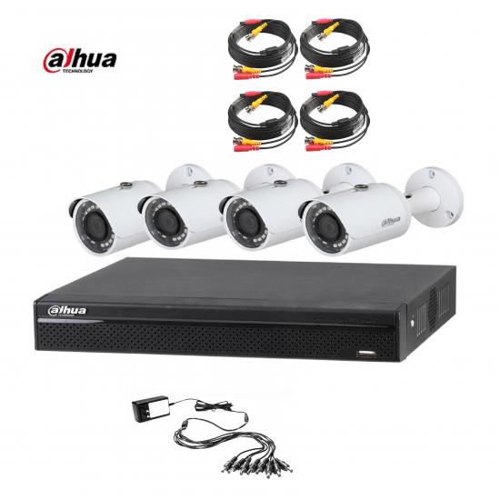 DAHUA 4CH 1MPIXEL CCTV KIT 4142
