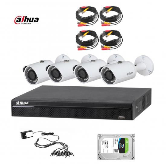 DAHUA 4CH 1MPIXEL CCTV KIT 4143