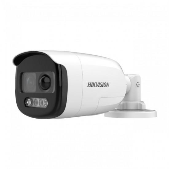 HIKVISION DS-2CE12DFT-PIRXOF 2 MP ColorVu PIR Siren Bullet Camera